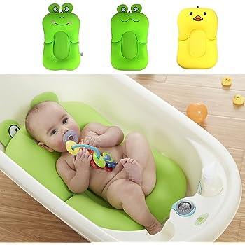 Baby Bath Pad Non-Slip Leak-proof Bathtub Mat Safety Bath Seat Support UK