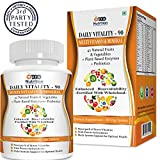 Best Organic Multi Vitamins - ProNutrition Multivitamin with 42 Vitamins & Minerals Enzymes Review