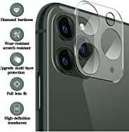 iTedel 3D Camera Lens Protector for iPhone 11 Pro/iPhone 11 Pro Max, HD Clear Tempered Glass 9H Anti-Scratch Anti-Fingerprin