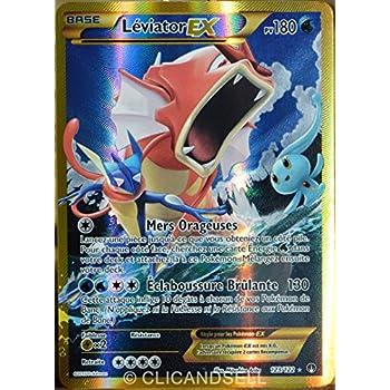 Carte pok mon 123 122 l viator ex 180 pv secret rare - Carte pokemon ex et gx ...