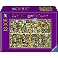 Ravensburger Italy Colin Thompson Magical Bookcase Puzzle, 18000 Pezzi, 17825