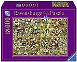 Ravensburger 17825 Colin Thompson, Magisches Bücherregal Puzzle, 18000 Teile