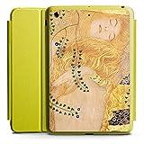 Apple iPad Mini 4 Smart Case limette Hülle mit Ständer Schutzhülle Klimt Wasserschlangen Kunst