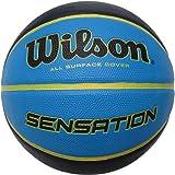 Wilson Pelota de Baloncesto Sensation Caucho Interior y Exterior, Unisex-Adult