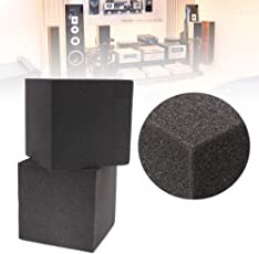 AST Works 2X Soundproof Studio Acoustic Corner Cube Bass Trap Foam Absorption Materials Q