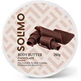 Amazon Brand - Solimo Body Butter - Chocolate - 200 gms