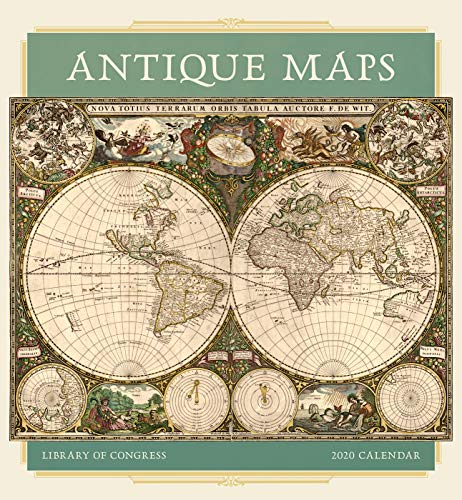 Antique Maps 2020 Calendar