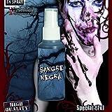 Schwarzes Blut Blutspray Zombieblut Kunstblut Halloween Filmblut Zombie Hexenblut Spray Horror Makeup Zubehör
