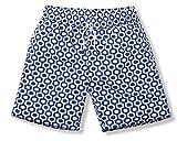 Frescobol Carioca SPORTSHORTS mit längeren Beinen | Mod. Ipanema in Navy Blue | Herrenfashion Bademode | mit Mesh-Innenhose für hohen Tragekomfort (XL)