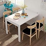 MENG Table Murale Rabattable en Bois Table De Bar Pliable Table De Salle À Manger pour Cuisine, Multifonction Bureau D'ordina