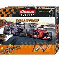 Carrera GO!!! - Champions (McLaren Alonso + Ferrari Vettel) 5.3 m, escala 1:43 (20062378)