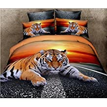 couette tigre. Black Bedroom Furniture Sets. Home Design Ideas