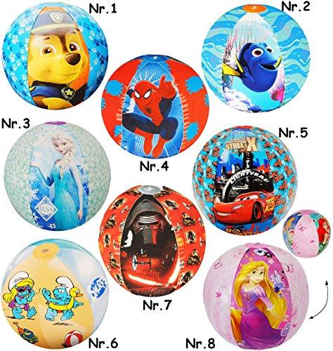 """Preisvergleich Produktbild Wasserball / Strandball / Ball aufblasbar - """" Disney - Findet Nemo & Dory - Fische """" - Ø 42 cm - Wasserball - aufblasbarer groß / Beachball - Spielball - Kinder Badespielzeug / Aufblasball Luft - Strandspielzeug - Mädchen & Jungen Schwimmartikel / Wasserspielzeug - Unterwasser Fisch"""