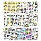 Oblique Unique® Emoji Sticker 960 Stück Aufkl...Vergleich