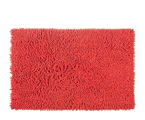 Alfombrista Gloria Alfombra, Algodón, Rojo, 60 x 120 cm