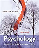 Cengage Advantage Books: Psychology: Concepts & Connections, Brief Version 9th edition by Rathus, Spencer A. (2012) Loose Leaf