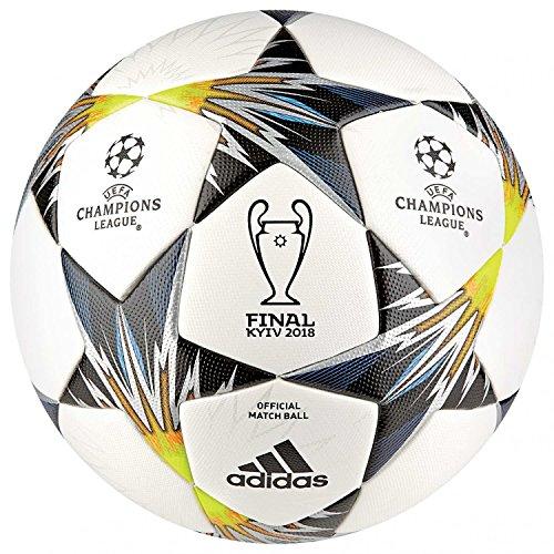 adidas Finale Kiew OMB–Fußball, Herren, Weiß (Weiß/Schwarz/Amasol/Blau) (Schwarz Adidas Fußball Ball)