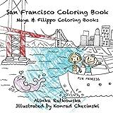 San Francisco Coloring Book (Maya & Filippo)