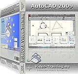 AutoCAD 2009 Video-Training.eu, DVD-ROM8 Stunden Video-Schulung. Für Windows 98/Me/2000/XP/Vista