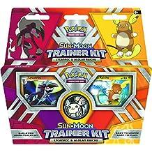 "Pokemon pok81210""TCG lycanroc y alolan Raichu"" sol/luna Trainer Kit"