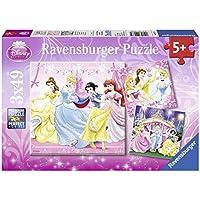 Ravensburger 09277 - Disney Princess, 3x 49 Teile Puzzle