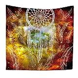 MIAO Tapestry Dekoration 3D Aquarell Indischen Mandala Abstrakte Kunst böhmischen Hippie Tapisserie Dekorative Stoff Bett Tuch Strand Tuch Polyester (Farbe : E, größe : 150x200cm)