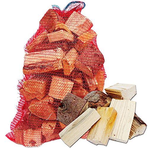 Münchner Brennholzsack: Brennholz Fichte - abgelagert & ofenfertig incl. 15 Anzünder CO2 neutral & umweltfreundlich (bis 15cm)