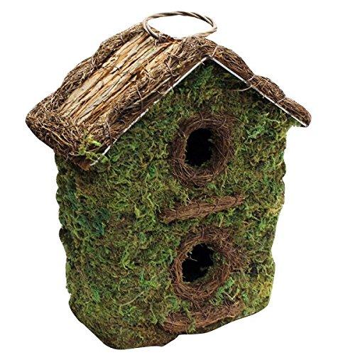 Bush Holz Zwei Storey Wild Bird Garten Nistkasten - 2