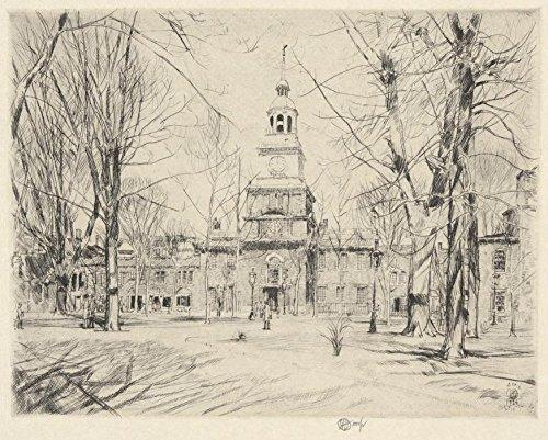 Das Museum Outlet-Unabhängigkeit Hall, Philadelphia, 1926-A3Poster