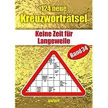 124 neue Kreuzworträtsel Band 34