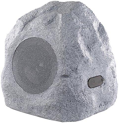 auvisio Gartenlautsprecher: Garten- und Outdoor-Lautsprecher im Stein-Design, Bluetooth, 30W, IPX4...