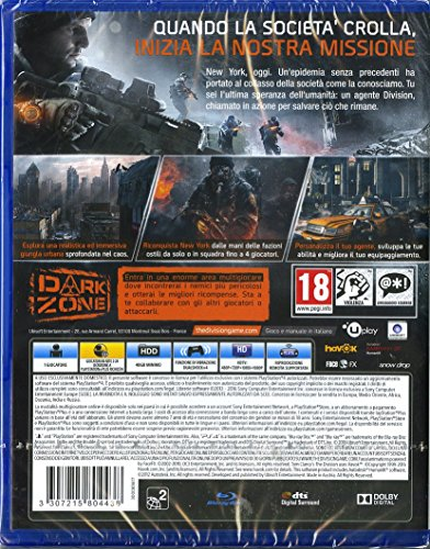 Tom Clancy 39 S The Division Playstation 4 Sparatutto