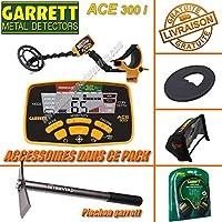 Garrett – Detector de metales ACE 300 I (3 accesorios (incluye casco audio,