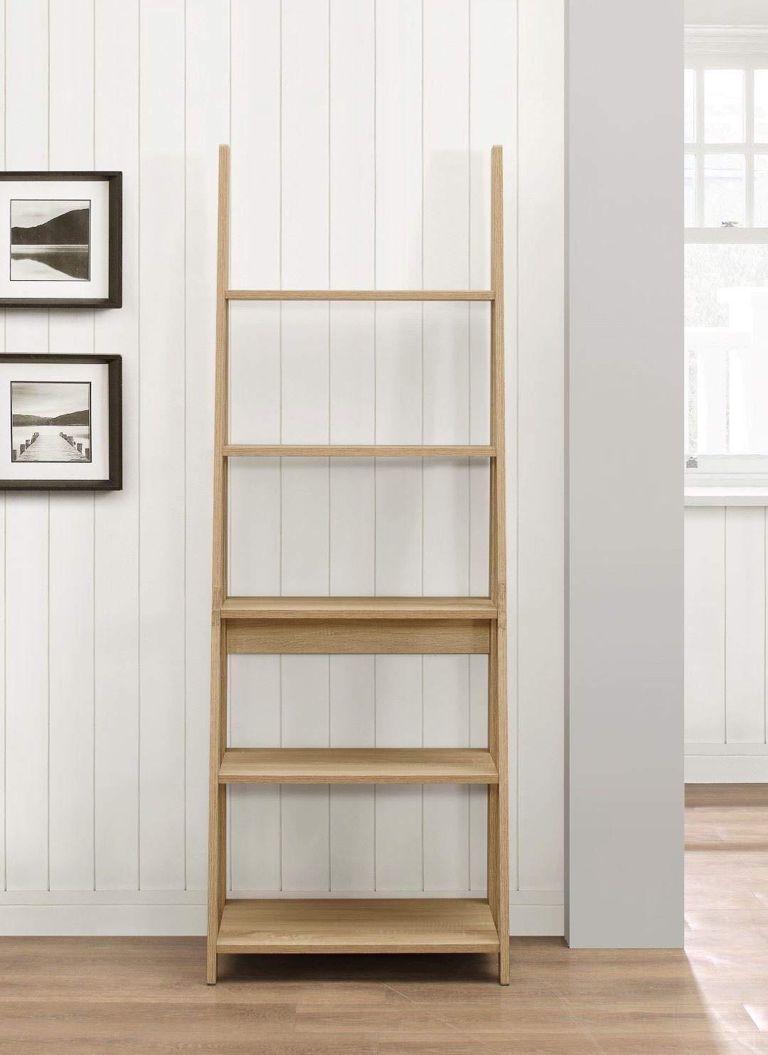 61yDEMWPdOL - Birlea, Dayton, Ladder Bookcase, Wood, Oak, One Size