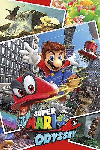 Close Up Super Mario Poster Odyssey Collage (61cm x 91,5cm) + Ü-Poster