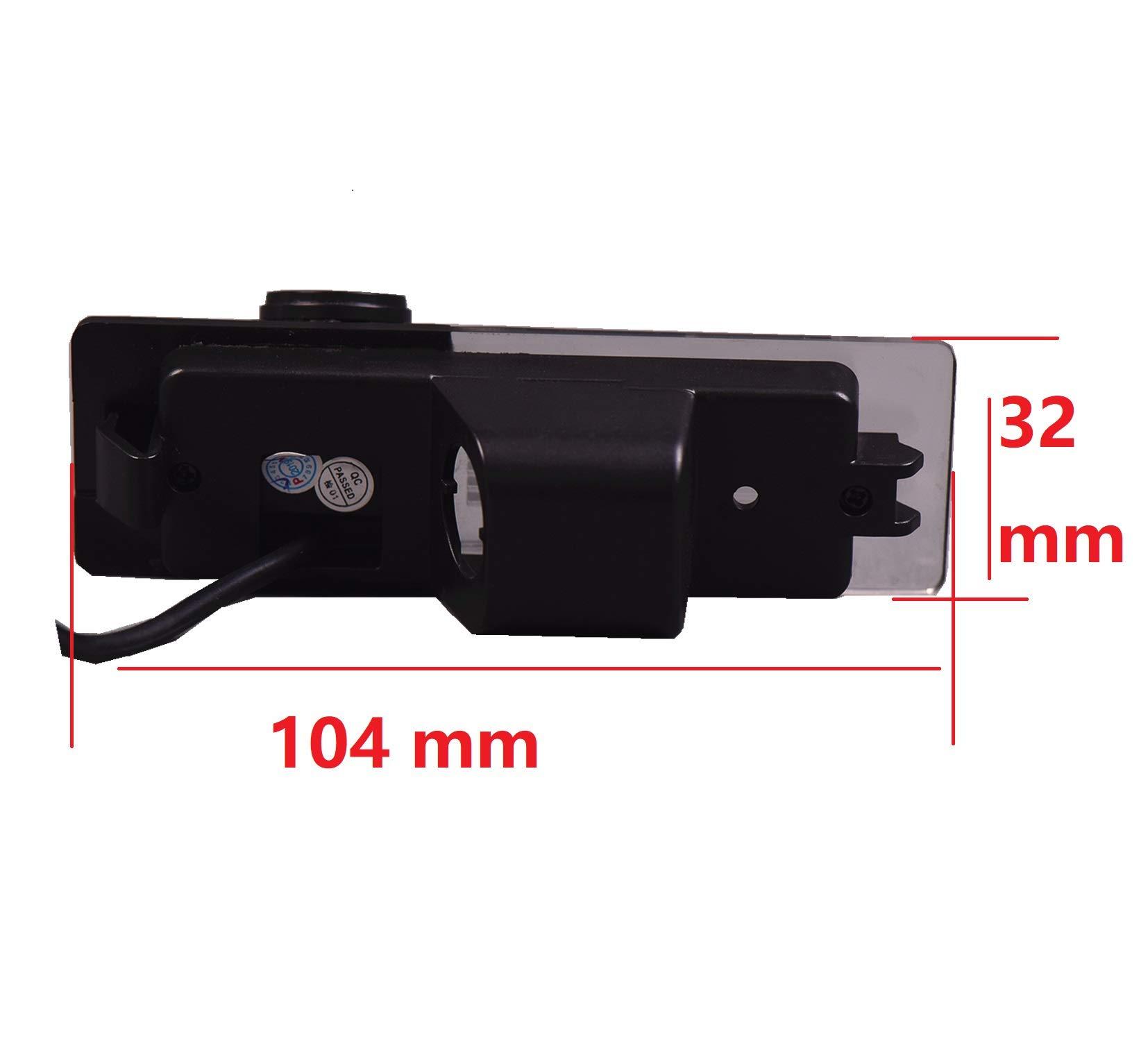 Rckfahrkamera-Rckfahrkamera-Nummernschild-Ersatzkamera-Ip69k-Wasserdicht-fr-BMW-1er-120i-E81-E87-F20-135i-640I