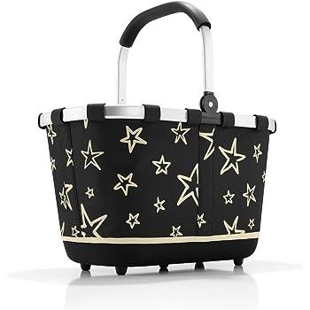 bestehend aus reisenthel carrybag//Einkaufskorb und reisenthel coolerbag//K/ühltasche in dem trendigen Design dots//bunte Punkte sch/önes reisenthel Einkaufsset 2tlg