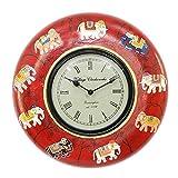 APKAMART Handcrafted Vintage Clock - Rou...