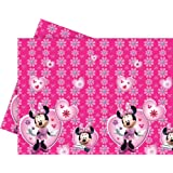 Amscan - Procos 5737- Tishdecke 120 x 180 cm - Disney Minnie