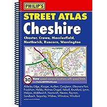 Philip's Street Atlas Cheshire: Spiral Edition