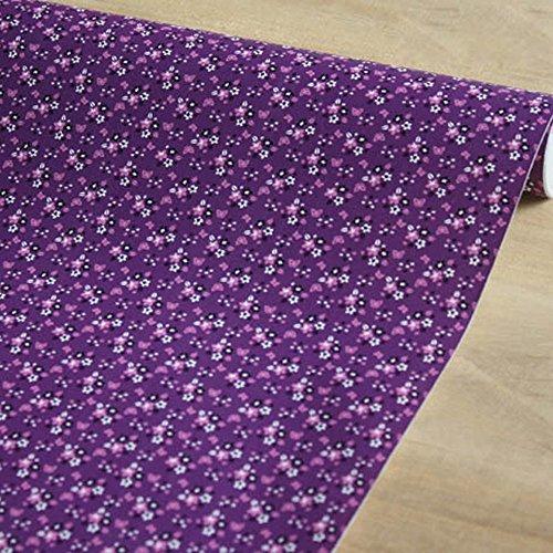 lovefaye violett Kontakt Papier Deko Regal Schublade Liner selbstklebend Bank geschoben Dresser Cabinet Decor 45cm von 9.8Füße (Harte Punkt Halloween-punkt Zu)