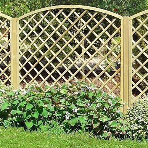 Evergreen traliccio ad arco grigliato legno trattato for Grigliato ad arco