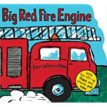 Big Red Fire Engine by Ken Wilson-Max (2013-06-01)