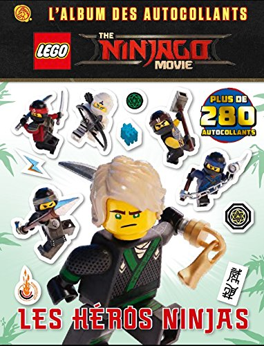 Lego Ninjago Movie : L'album des autocollants