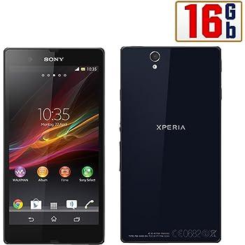 Sony Xperia Z Smartphone (5 Zoll (12,7 cm) Touch-Display, 16 GB Speicher, Android 4.1) schwarz