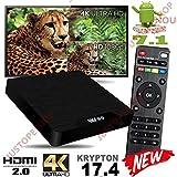 #10: SreeTeK TM W95 Android 7.1, 4K Android TV Box 2GB RAM 16GB Amlogic S905W UHD JIO TV Support Smart tv Set Top Box X96 Mini TX3 Mini S95 MXQ PRO Tanix tx3 max