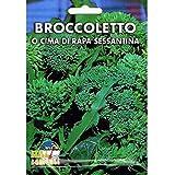 Vivai Le Georgiche Broccoletto o Cima di Rapa Sessantina (Semente)