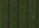 Tweed-Stoff Meterware - 100% Schurwolle - grün mit