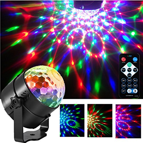 Disco Ball Party Lights Stage Crystal Lamp Projector