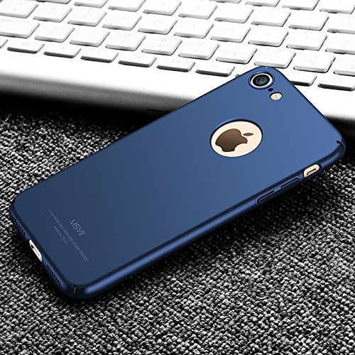 Yooky Apple Iphone 7 Plus Case Cover Custodia , Iphone 7 Plus Caso Cubierta , Scratch Resistant Slim Hard Protective Cover Shell for Iphone 7 Plus Blue